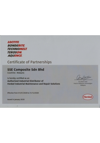 LOCTITE CERTIFICATE OF PARTNERSHIPS - 2020
