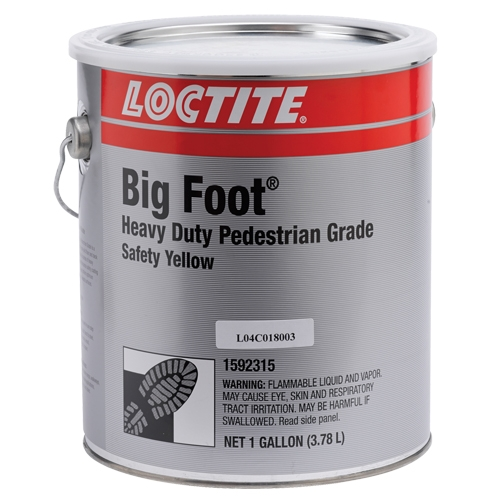 Loctite PC 6261 Heavy Duty Pedestrian Grade Anti-Slip Coating (Yellow)