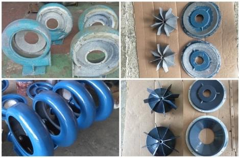 Apply Loctite Nordbak Brushable Ceramic Coating for Blower Fan