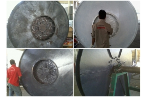 Apply Loctite Ceramic Coating for Exhaust Fan