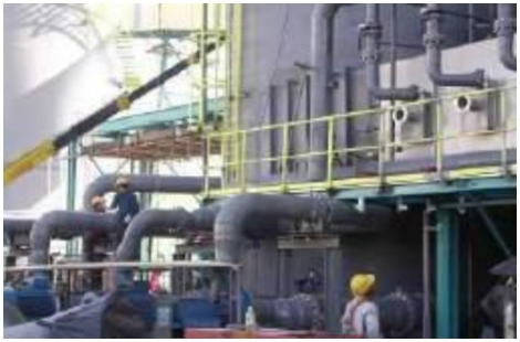 Equipment Tie-In and Hook Up at Chemical Plant