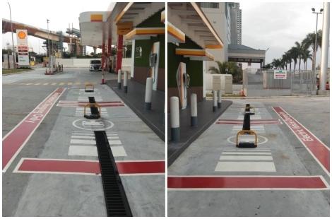 EV Fueling Bay Floor Coating