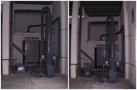 FRP Scrubber Fabrication Work