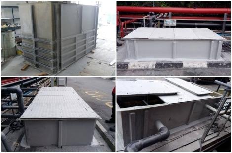 FRP Tank Fabrication & Installation Work