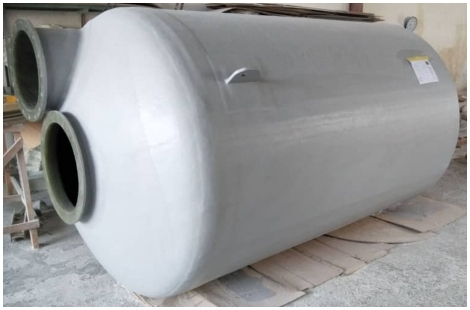 FRP Tank Fabrication Work