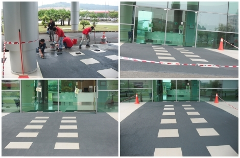 Loctite Floor Coating for Main Entrance