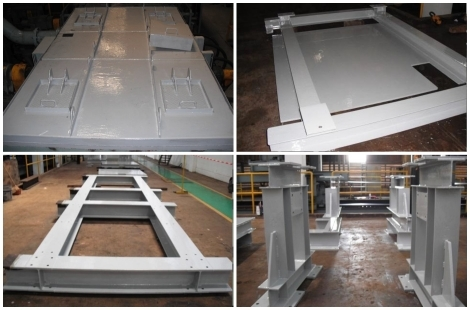 Loctite Chemical Resistant Coating for Steel Structure