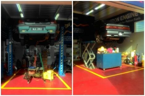 Petron Car Care Centre Floor Coating