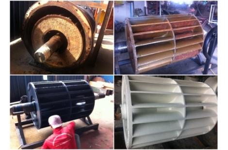 Refurbishment Vacuum Pump using Loctite Products