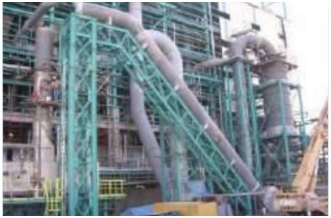 Scrubber and Ducting Erection at Fertilizer Plant
