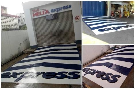 Shell Helix Express Floor Coating